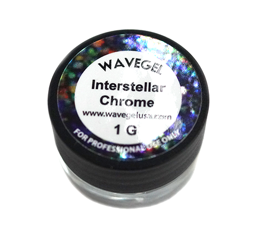 Wave Gel Nail Art Hyper Chrome, Interstellar, 1oz OK1129