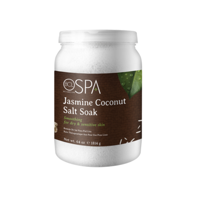 BCL SPA, Dead Sea Salt Soak Jasmine Coconut, 64oz