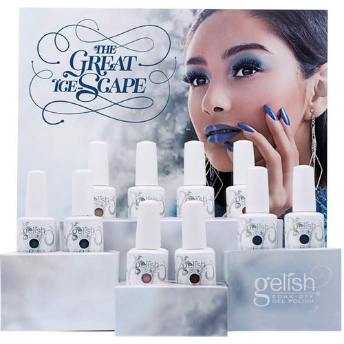 Gelish Gel 10, The Great Ice-Space Collection Full Line Of 6 colors (from 1100114 to 1100119, Price: $7.95/pc)