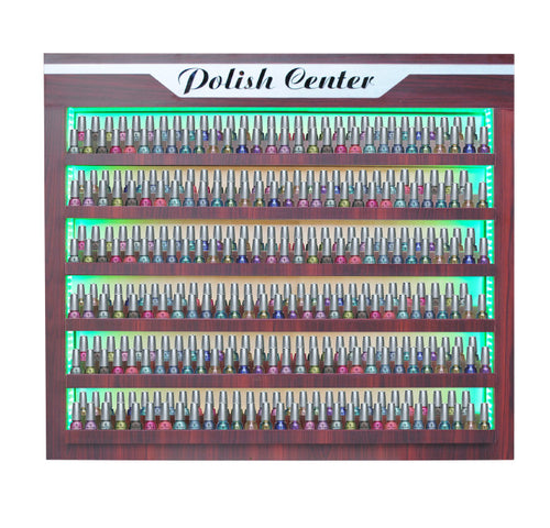 Cre8tion CD Double Polish Center, Green LED Light, 29048 (NOT Included Shipping Charge)