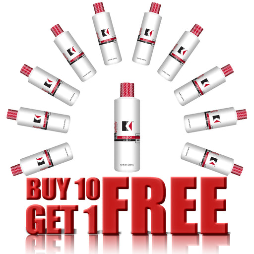 Kupa Gelfinity, Top Coat Gloss No Wipe, 8oz, Buy 10 Get 1 FREE