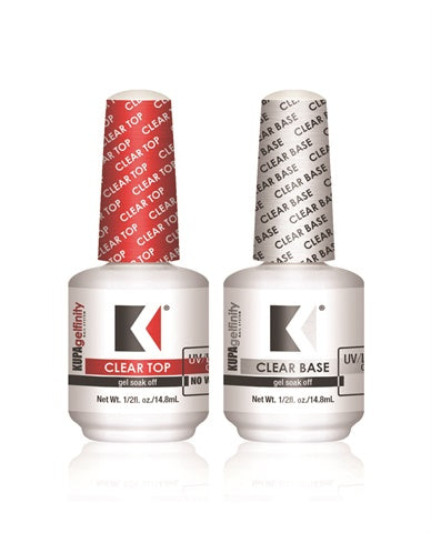 Kupa Gelfinity, Base and Top Coat 0.5oz