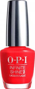 OPI Infinite Shine, ISL 08, Unrepentantly Red, 0.5oz KK0807