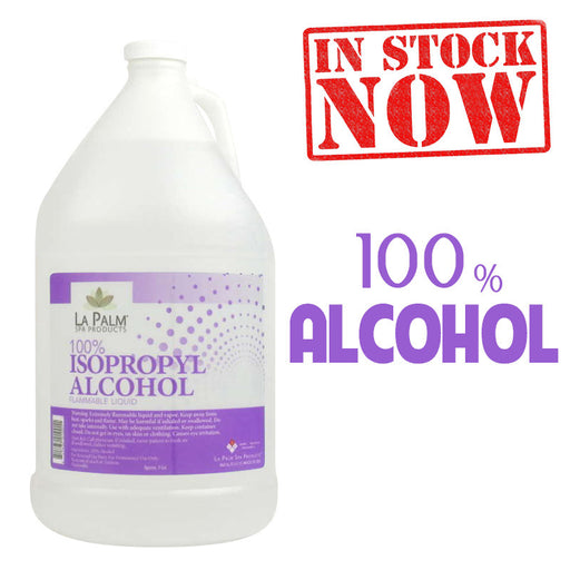 La Palm 100% Isopropyl Alcohol, 1Gal KK