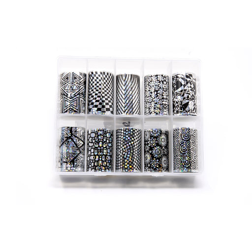 NCI Nail Art Transfer Foil, Large, Collection 03 OK0424VD