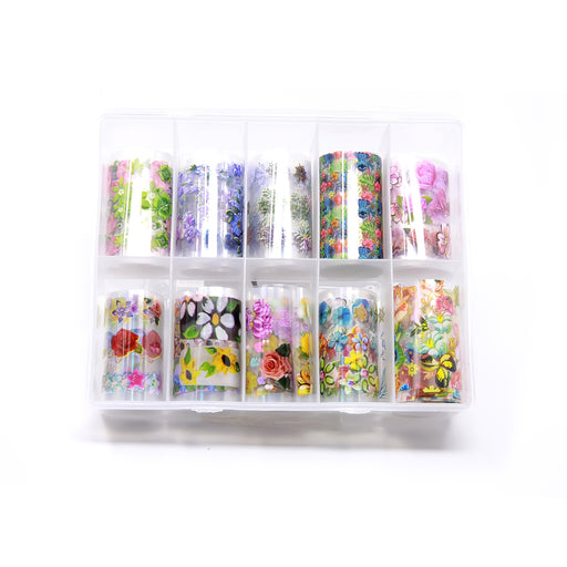NCI Nail Art Transfer Foil, Large, Collection 04 OK0424VD
