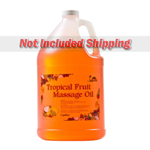 Be Beauty Spa Collection, Massage Oil, Tropical Fruit (Orange), 1Gallon, CMSS001G1
