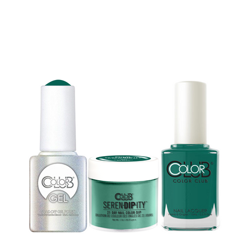 Color Club 3in1 Dipping Powder + Gel Polish + Nail Lacquer , Serendipity, Mad About Marley, 1oz, 05XDIPN47-1 KK