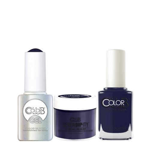 Color Club 3in1 Dipping Powder + Gel Polish + Nail Lacquer , Serendipity, Made in the USA, 1oz, 05XDIP1074-1 KK