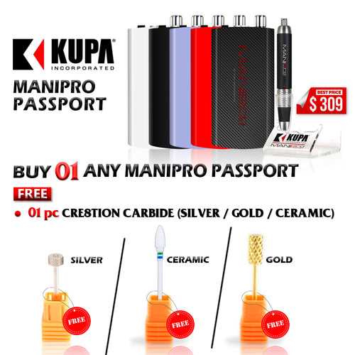ManiPro Passport, Buy 1 Get 1 Cre8tion Carbide