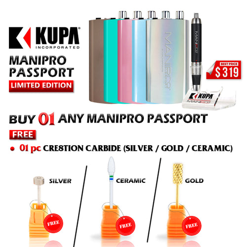ManiPro Passport Limited Edition, Buy 1 Get 1 Cre8tion Carbide