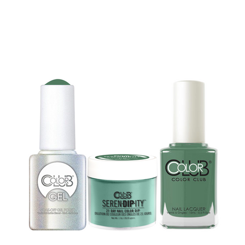 Color Club 3in1 Dipping Powder + Gel Polish + Nail Lacquer , Serendipity, Martian, Martian, Martian!, 1oz, 05XDIP1121-1 KK