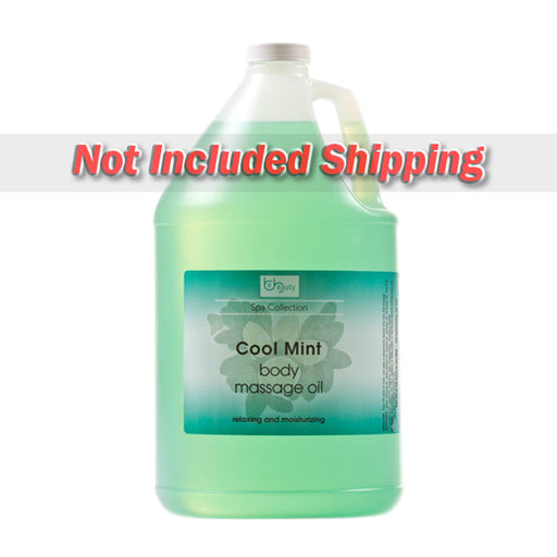 Be Beauty Spa Collection, Massage Oil, Cool Mint, 1Gallon, CMSS150G1