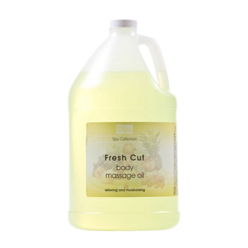 Be Beauty Spa Collection, Massage Oil, Fresh Cut, 1Gallon, CMSS153G1 KK0511