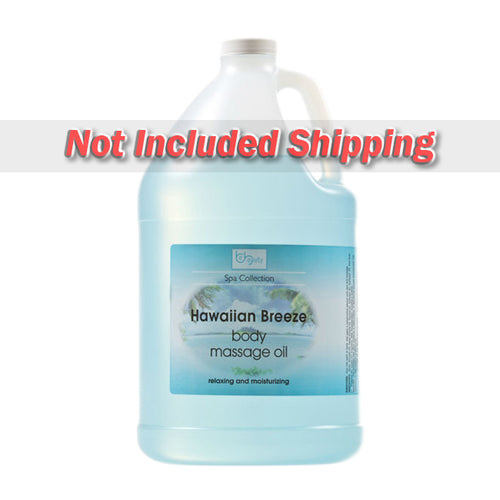 Be Beauty Spa Collection, Massage Oil, Hawaian Breeze, 1Gallon, CMSS155G1 KK0511