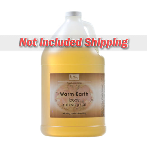 Be Beauty Spa Collection, Massage Oil, Warm Earth, 1Gallon, CMSS151G1 KK0511