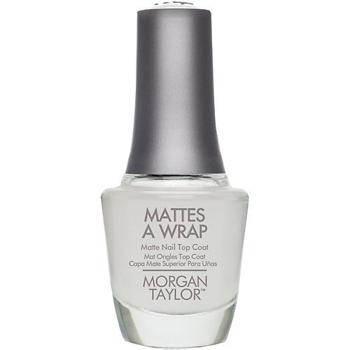 Morgan Taylor, 51003, Mattes A Wrap - Top Coat, 0.5oz