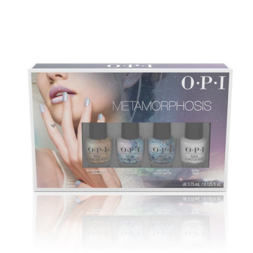 OPI Nail Lacquer 4, Metamorphosis Collection, Full line of 6 colors (from NL C75 to NL C80), 0.5oz