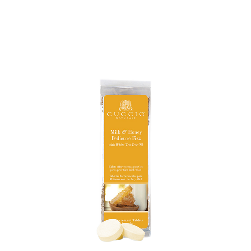 Cuccio Pedicure Fizz, Milk And Honey, 24tablets, 3045