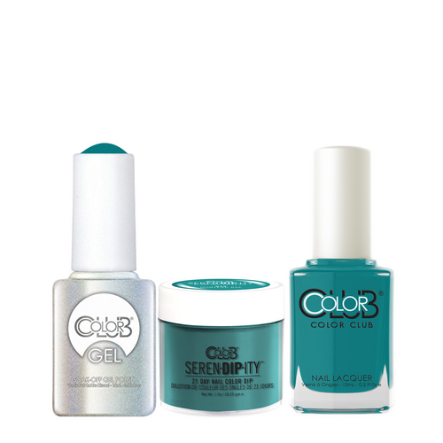 Color Club 3in1 Dipping Powder + Gel Polish + Nail Lacquer , Serendipity, Montego BAE, 1oz, 05XDIPN48-1 KK