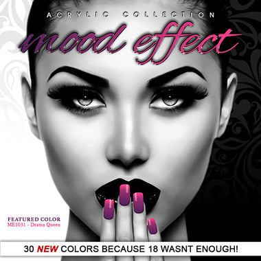 G & G Mood Effect Acrylic Powder 30 New Colors