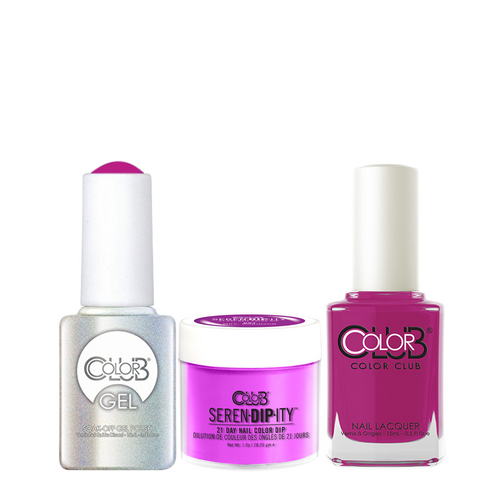 Color Club 3in1 Dipping Powder + Gel Polish + Nail Lacquer ,  Serendipity, Mrs. Robinson, 1oz, 05XDIPN07-1 KK