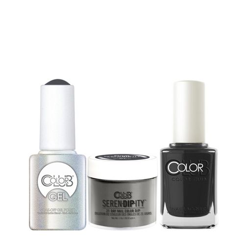 Color Club 3in1 Dipping Powder + Gel Polish + Nail Lacquer , Serendipity, Muse-ical, 1oz, 05XDIP968-1 KK