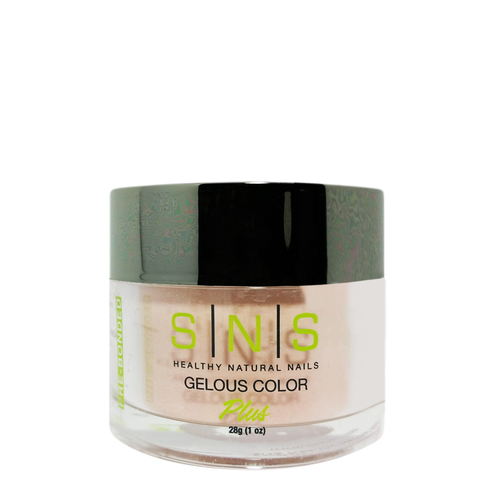 SNS Gelous Dipping Powder, NC16, Nude Neutral Collection, 1oz KK