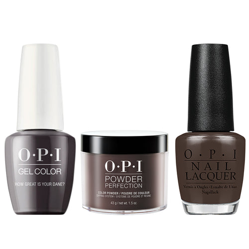 OPI 3in1, N44, How Great is Your Dane?