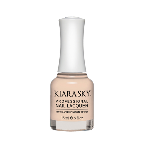 Kiara Sky Nail Lacquer, N492, Only Natural, 0.5oz KK0824