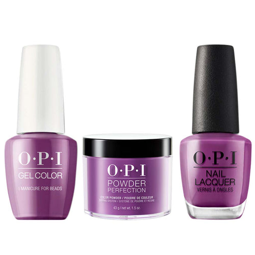 OPI 3in1, N54, I Manicure For Beads
