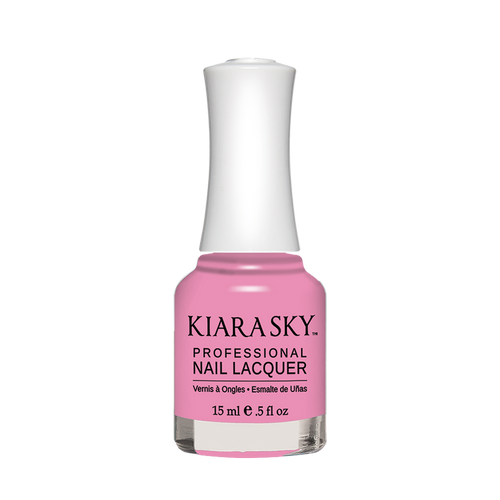 Kiara Sky Nail Lacquer 3, N582, Carousel Collection, Pink Tutu, 0.5oz KK0914
