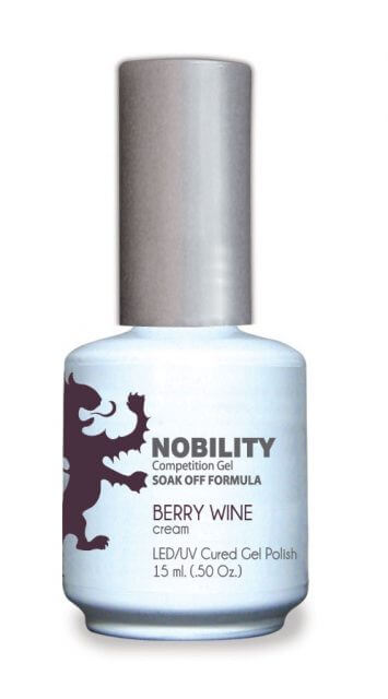 LeChat Nobility Gel, NBGP009, Berry Wine, 0.5oz