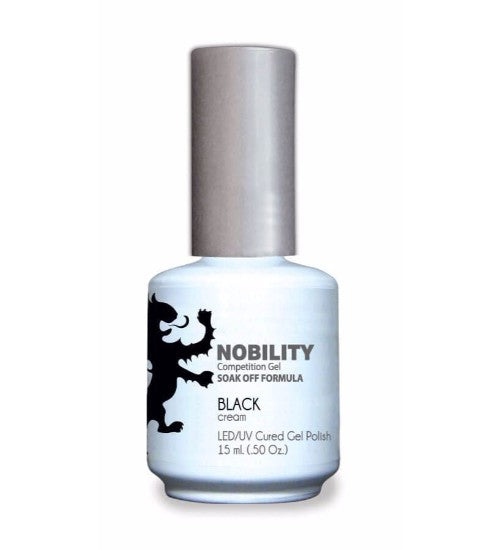 LeChat Nobility Gel, NBGP002, Black, 0.5oz
