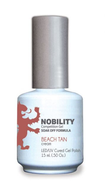 LeChat Nobility Gel, NBGP029, Beach Tan, 0.5oz