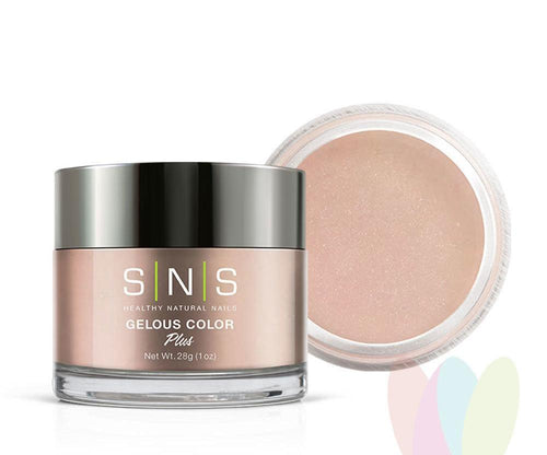 SNS Gelous Dipping Powder, NC25, Nude Neutral Collection, 1oz KK