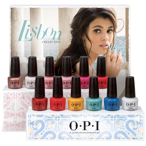 OPI  Nail Lacquer 3, Lisbon Collection, 0.5oz, Full line Of 12 Colors (from NL L15 to NL L26) KK