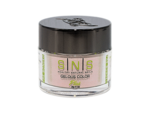 SNS Gelous Dipping Powder, NOS005, Nude On Spring 2018 Collection, 1oz KK1220