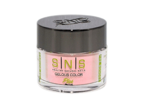 SNS Gelous Dipping Powder, NOS011, Nude On Spring 2018 Collection, 1oz KK1220