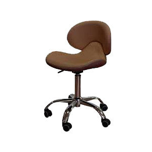 Cre8tion Nail Technician Chair, Brown, 29036 BB (NOT Included Shipping Charge)