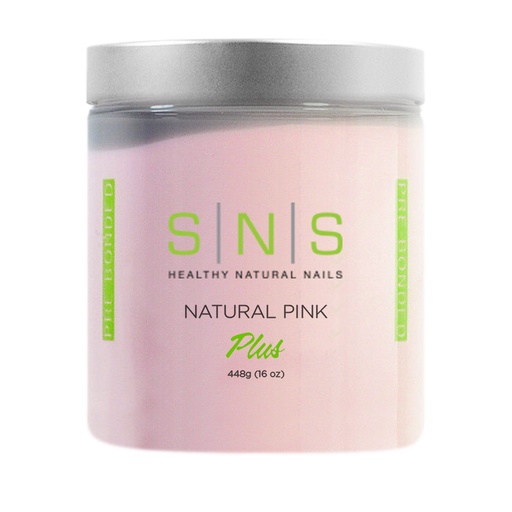 SNS Dipping Powder, 09, NATURAL PINK, 16oz, 18pcs/case OK0118VD