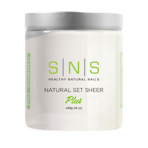 SNS Dipping Powder, 04, NATURAL SET SHEER, 16oz, 18pcs/case OK0118VD