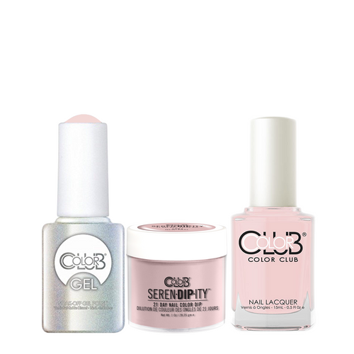 Color Club 3in1 Dipping Powder + Gel Polish + Nail Lacquer , Serendipity, New-tral, 1oz, 05XDIP1067-1 KK