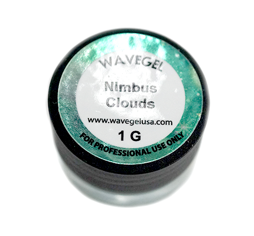 Wave Gel Nail Art Hyper Chrome, Nimbus Clouds, 1oz OK1129
