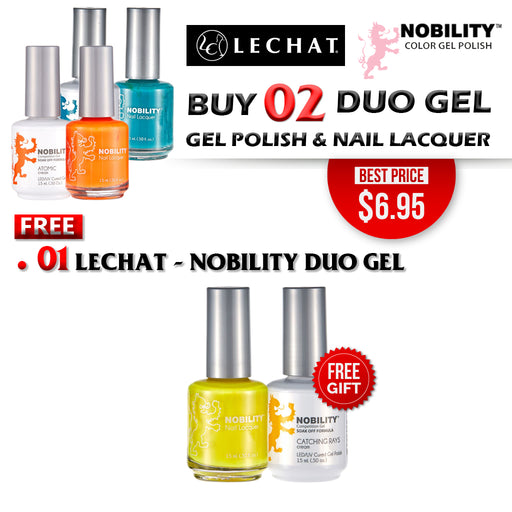 LeChat Nobility Gel & Polish Duo, Buy 2 Get 1 FREE