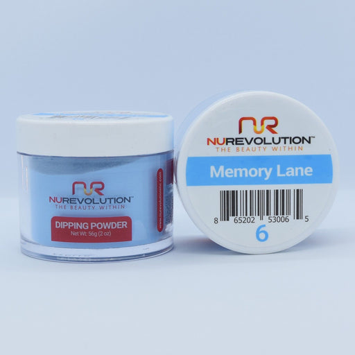 NuRevolution Dipping Powder, 006, Memorylane, 2oz OK0502VD