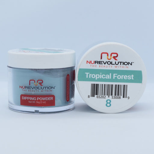 NuRevolution Dipping Powder, 008, Tropical Forest, 2oz OK0502VD