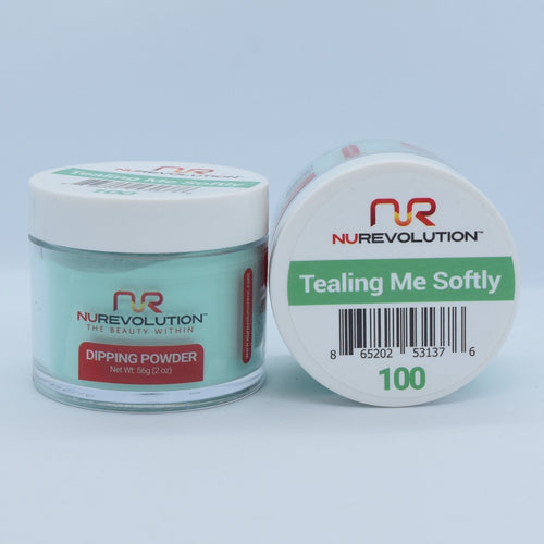 NuRevolution 3in1 Dipping Powder + Gel Polish + Nail Lacquer, 100, OK1129