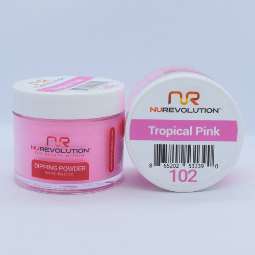 NuRevolution 3in1 Dipping Powder + Gel Polish + Nail Lacquer, 102, OK1129