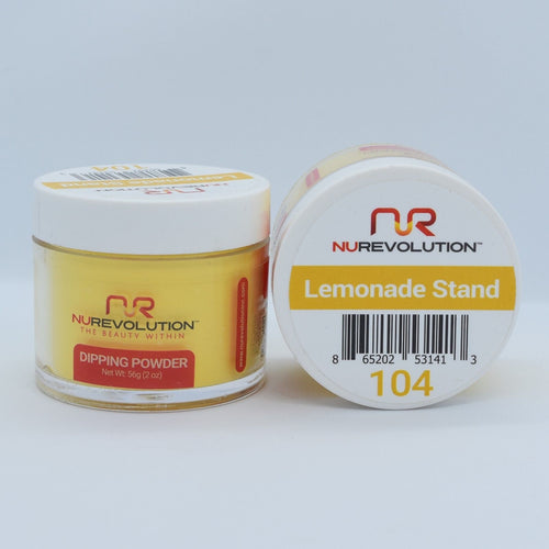 NuRevolution 3in1 Dipping Powder + Gel Polish + Nail Lacquer, 104, OK1129